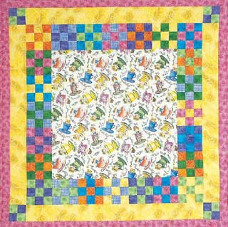 Free Easy Quilt Patterns: String, Paper-Pierced Block - Life123