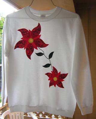 Free Applique Pattern For Sweatshirt | How to Applique